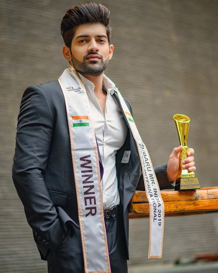 Ashwani Neeraj was elected Rubaru Mr. India 2018 at the national finale of Rubaru Mr. India 2018 competition held on March 10, 2018 in Goa, India. In 2019, Rubaru Mr. India organization appointed him to represent India at Mr. Grand International 2019 contest.