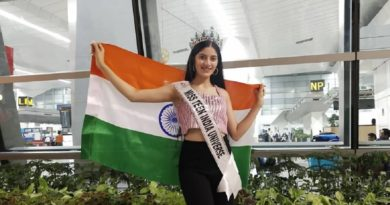 Miss Teen India Universe 2019, Vridhi Jain from New Delhi.