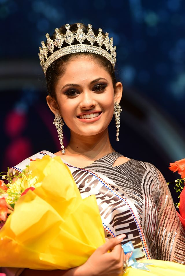 Aayushi Dholakia is the first Asian and Indian delegate to win the prestigious Miss Teen International crown. Earlier this year, she was also crowned Miss Teen International India.