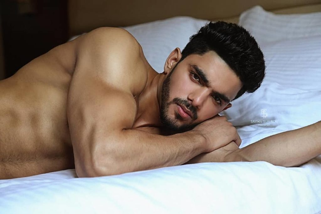 Rubaru Mr. India 2019, Pankaj Joon.