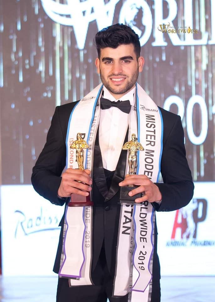 Sultan Hasib, Mister Model Worldwide 2019 (Second Runner-up)