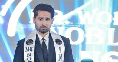 Indian fitness trainer, Yashvir Singh won press award in the Philippines