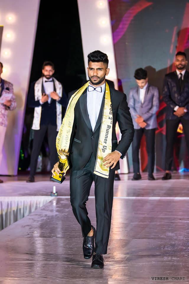 Rendel Ferros was elected Mr. Goa 2019 (Second Runner-up) at the annual Mr. Goa contest held last year (2019) in the month of December. Along with winning this title, he also won direct entry to the final show of India's biggest annual pageant for men – Rubaru Mr. India.