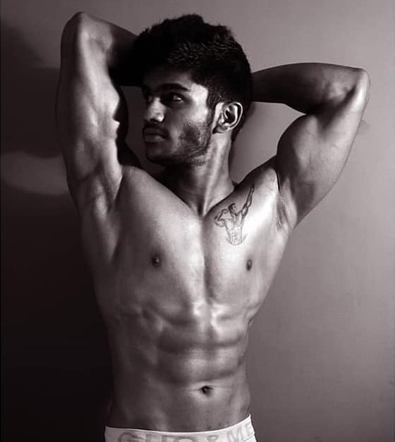 He is a model and fitness trainer by profession.
