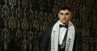 Sultan Hasib, Mister Model Worldwide 2019 (2nd Runner-up) from Afghanistan