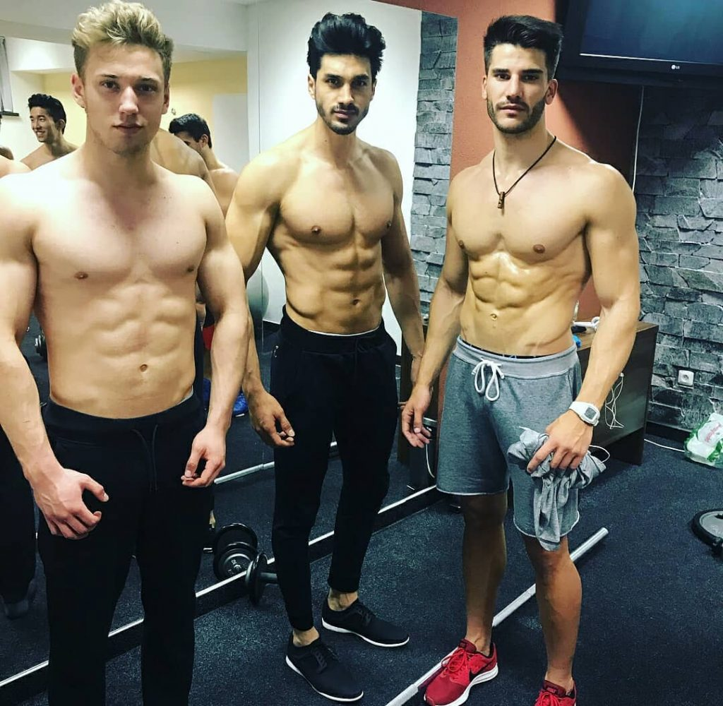 Candidates of the second Mister Supranational competition