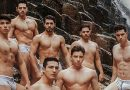 Candidates of the eighth edition of Mr Model Mexico contest