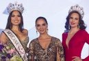 Andrea Meza, Mexicana Universal 2020 with Lupita Jones, the founder and president of Mexicana Universal Organization and Claudia Lazano, Mexicana Universal 2019 (First runner up).