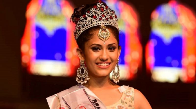 Miss Teen India International 2019 and Miss Teen International 2019, Aayushi Dholakia..