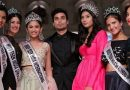 The founder and chairperson of Miss Teen Diva beauty pageant, Nikhil Anand with former titleholders.