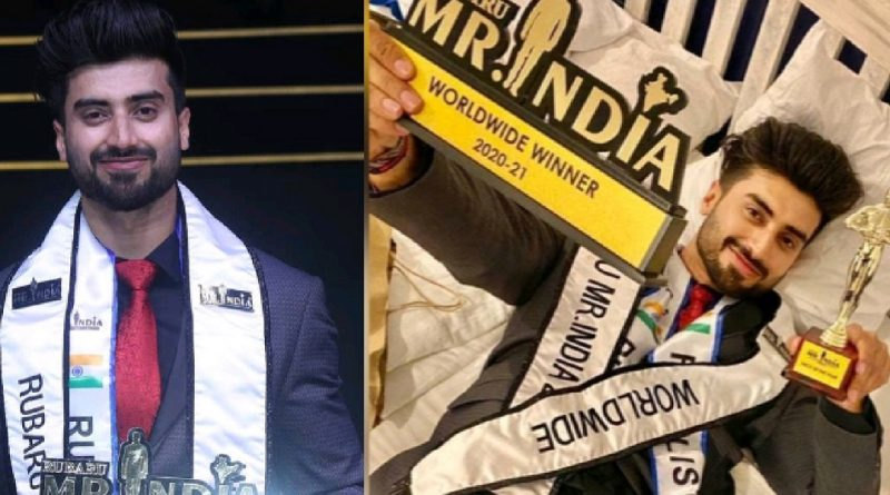 Jammu's Ankit Sharma named 'the most handsome face of the year' at India's biggest pageant for men – Rubaru Mr. India