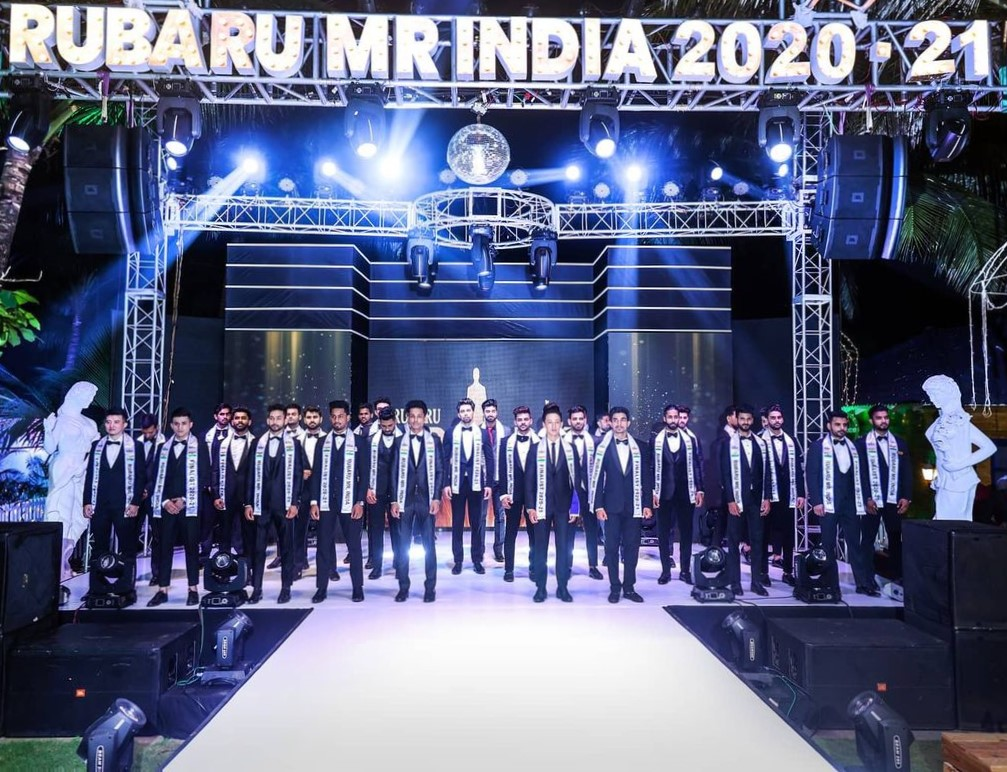 Rubaru Mr. India only national level male pageant taking place since 2017. It contributes more than 70% to India's male pageant industry and is the highest contributor to the number of awards won by Indian representatives at international male pageants.