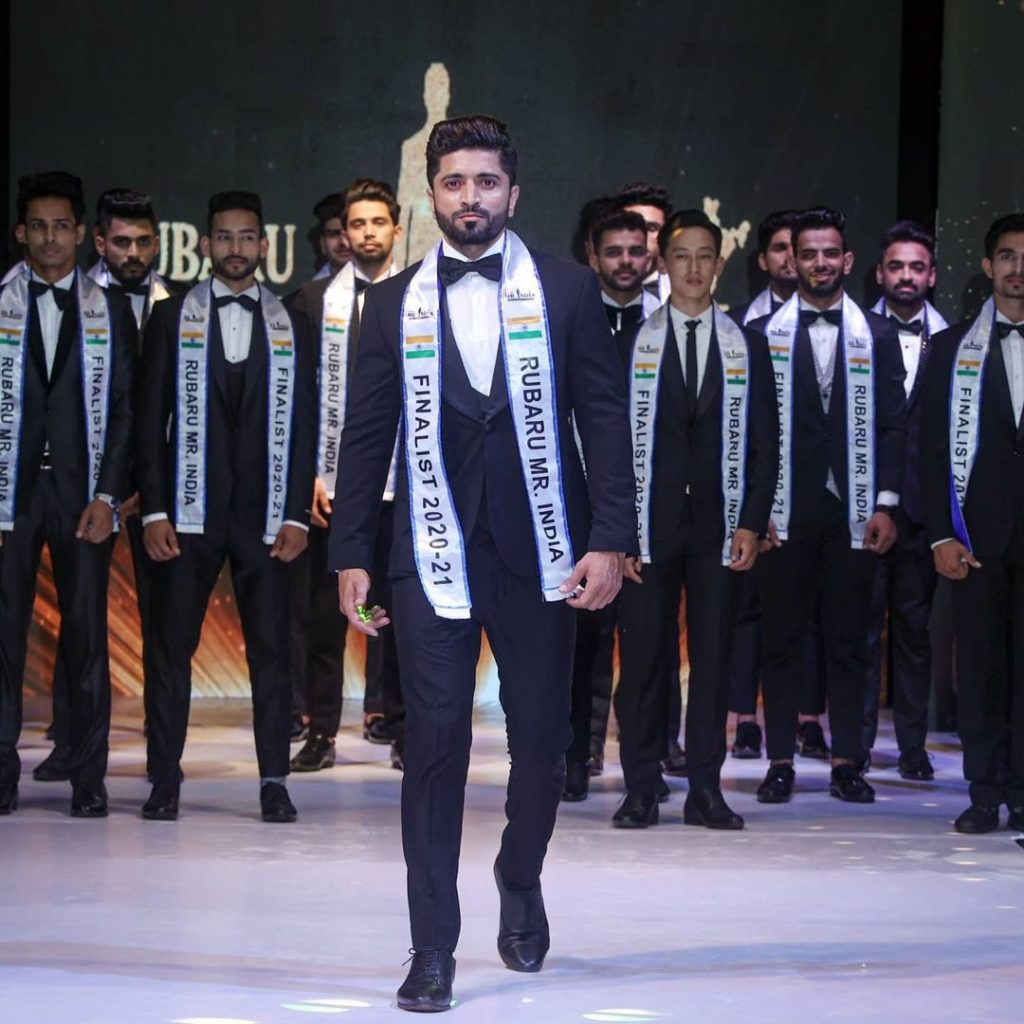 When the real-life 'Dabangg' Rahul Chavan walked the ramp at India's biggest pageant for men
