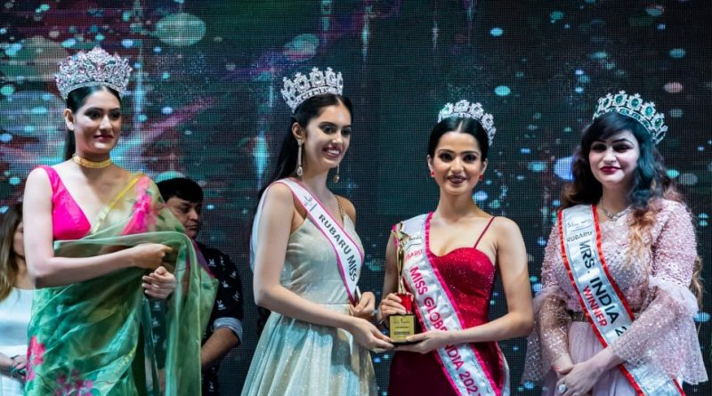 Beauty Queen, Evneet Kaur Juneja welcomes her successor Mansi Jha to the Miss Globe family