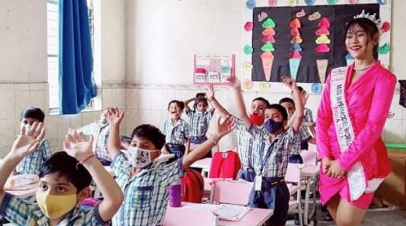 """""""Every child should have the opportunity to receive education,"""" says Momita Singha"""