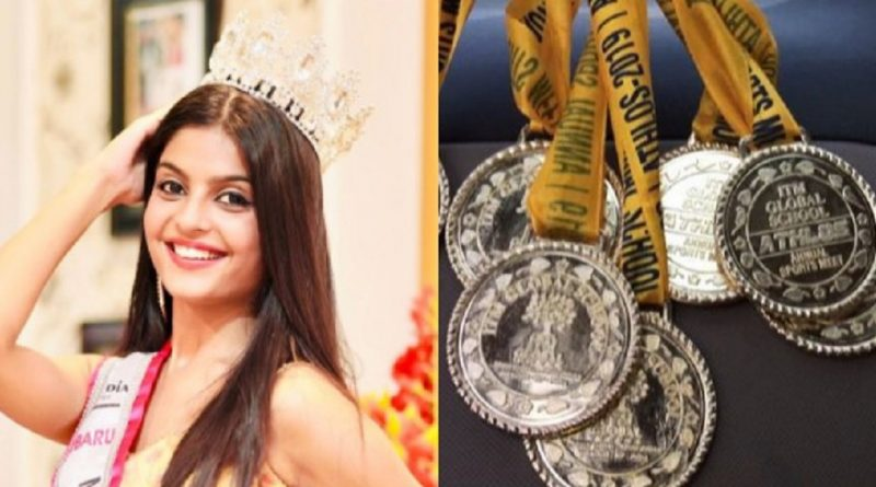 Meet Parvi Dhaulakhandi, the teenaged beauty queen that has won 10 gold medals in athletics